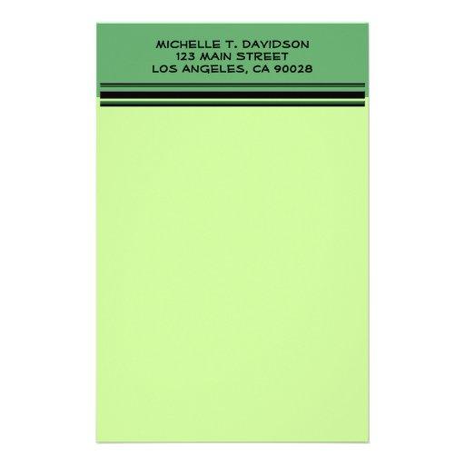 Green Professional Stationery Design