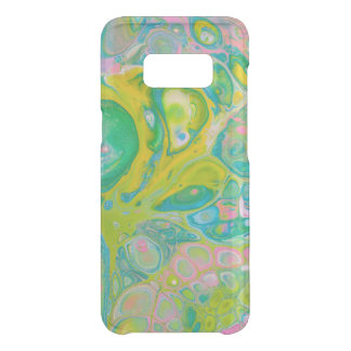 Green Psychedelic Acrylic Pour Art Uncommon Samsung Galaxy S8 Case