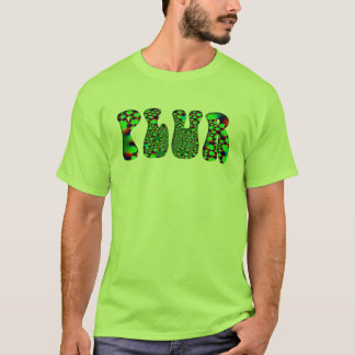 Green Psychedelic PLUR T-Shirt
