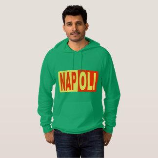 Green Pullover with hood NAPOLI ITALIA