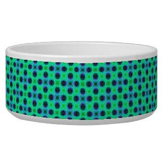 Green Purple Blue Geometric Abstract