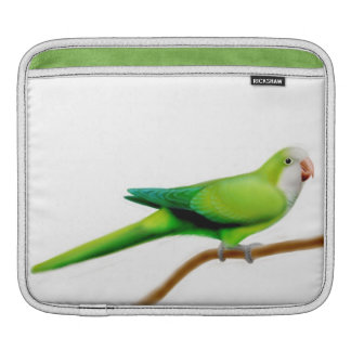 Green Quaker Monk Parrot Rickshaw Sleeve Sleeves For iPads