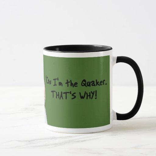 Green Quaker Parrot Mug