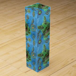 green rabbit wine box