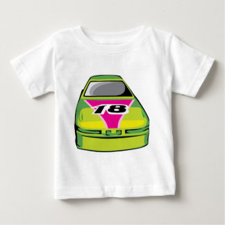 green race car baby T-Shirt
