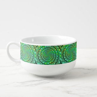 Green Rainbow Roots Soup Mug