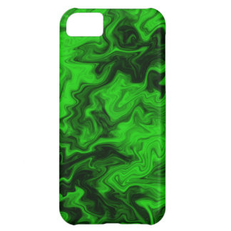Green Random Abstract iPhone 5C Cases