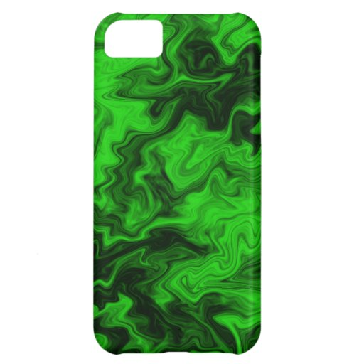 Green Random Abstract. iPhone 5C Cases