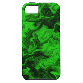 Green Random Abstract iPhone 5 Covers