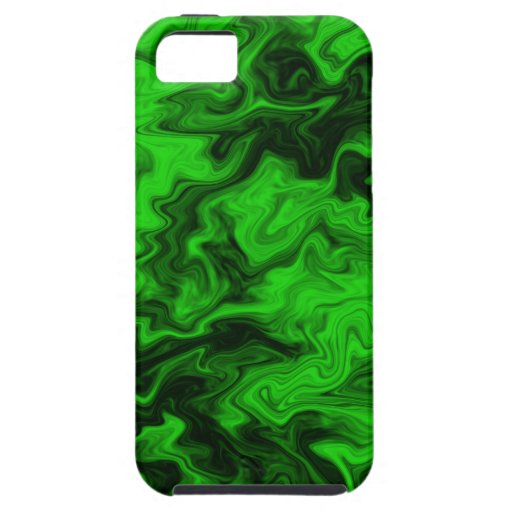 Green Random Abstract. iPhone 5 Covers