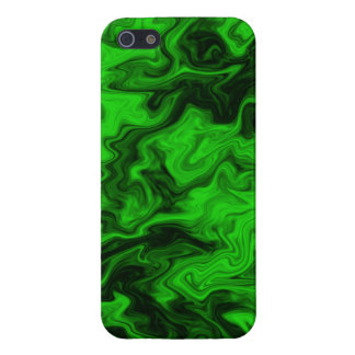Green Random Abstract. iPhone 5 Cover