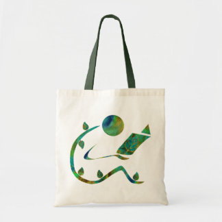 Green Reader Bag