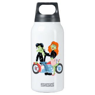 Green Rebel Bikers 0.3L Insulated SIGG Thermos Water Bottle