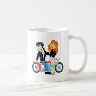 Green Rebel Bikers Basic White Mug