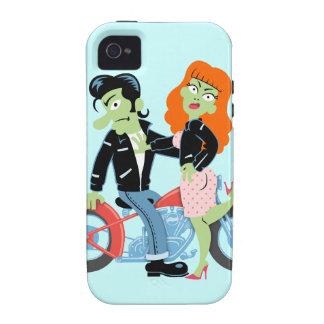 Green Rebel Bikers iPhone 4 Cases
