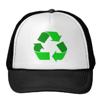 green recycle cap