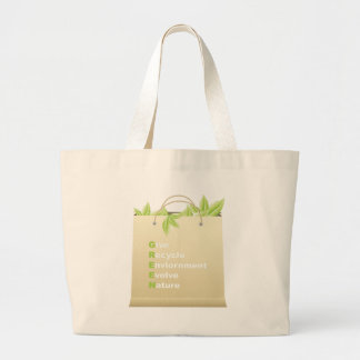 Green ~ Recycle Environment Evolve Nature Bags