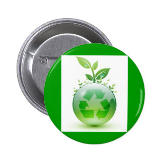 green-recycle-img 6 cm round badge