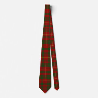 Green & Red Cameron Tartan Plaid Neck Tie