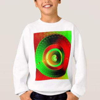 Green Red Circle Fractal Sweatshirt