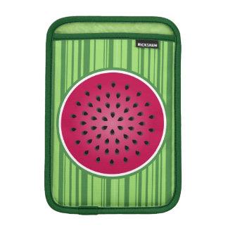 Green Red Watermelon Design iPad Mini Sleeves