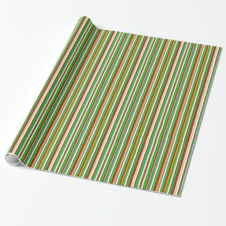 Green Red White Christmas Colors Bold  Stripes