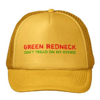 GREEN REDNECK MESH HATS