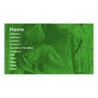 Green Reflections I Business Card Business Card Template