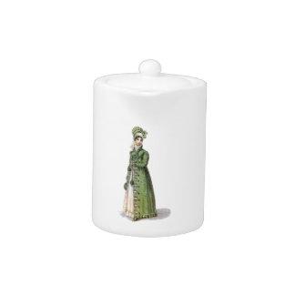 Green Regency Lady