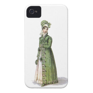 Green Regency Lady Case-Mate iPhone 4 Cases