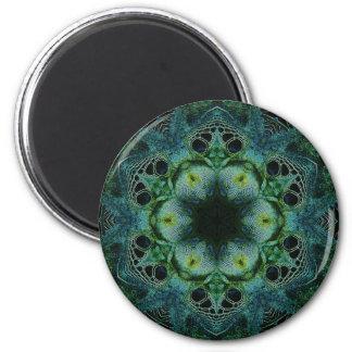 Green Reptile Magnet