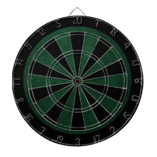 Green Retro Custom Leather Dart Boards