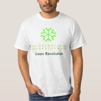 Green Revolution Snowflakes T-Shirt