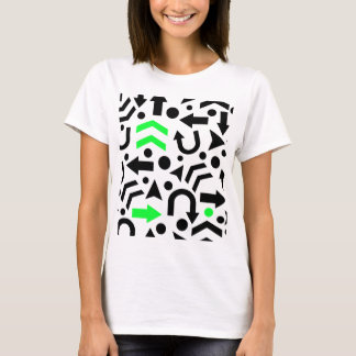 Green right direction T-Shirt