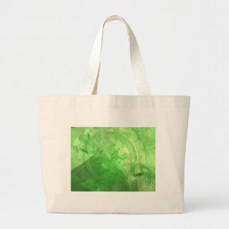 Green Rings Tote Bag