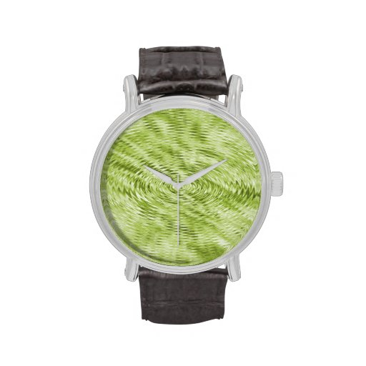 Green Ripples Watches