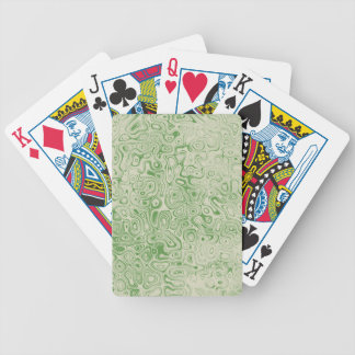 Green Rock Playing Cards by John Oven