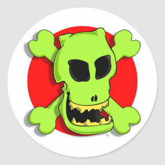 GREEN ROGER 2zr Stickers