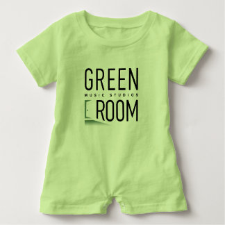 Green Room Music Studios Baby Romper for Musicians Baby Bodysuit