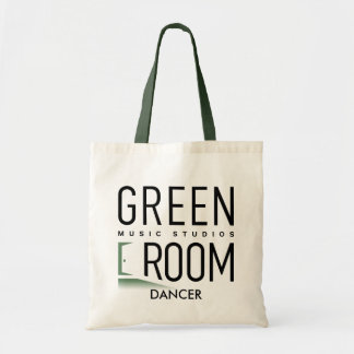 Green Room Music Studios Tote Bag for Dancers