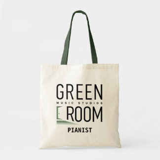 Green Room Music Studios Tote Bag for Pianists