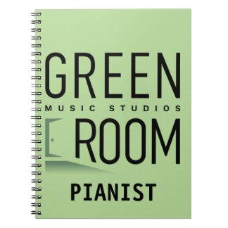 Green Room Pianist Notebook
