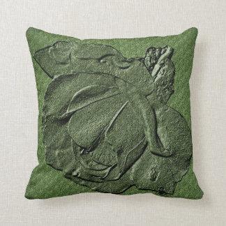 Green Rose Floral American MoJo Pillow Throw Cushions
