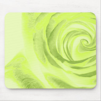 Green Rose mouse pad