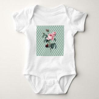 Green Rose Orient Baby Bodysuit