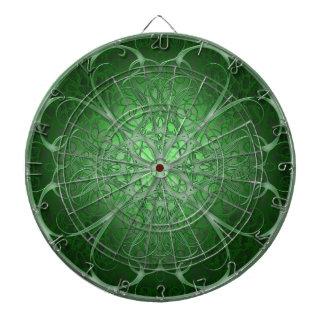 Green Rosetta Dartboard