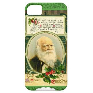 Green Santa poem iPhone 5 Cover