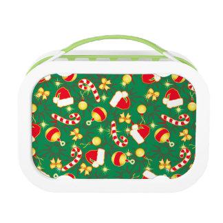 Green - Santa's cap Lunch Box