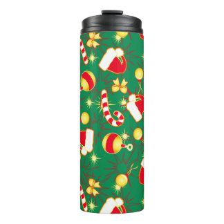 Green - Santa's cap Thermal Tumbler