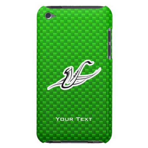 Green Saxophone iPod Touch Case